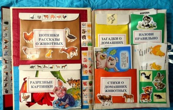 Лэп бук своими руками в детском саду тема животные